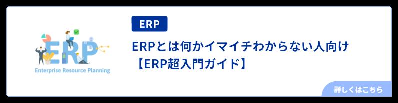 ERPとは何かイマイチわからない人向け【ERP超入門ガイド